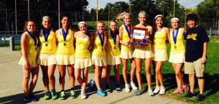 Notre Dame Academy - 2014 TRAC Girls Tennis Champions