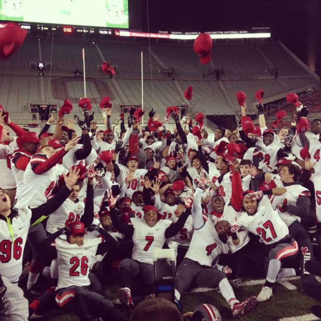 2014_CentralCatholic_Football_State_Champs