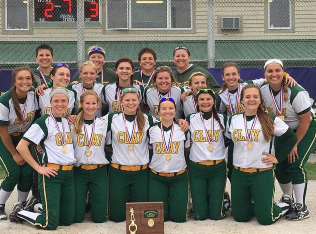 2016_Clay_D1_Softball_DistrictChamps