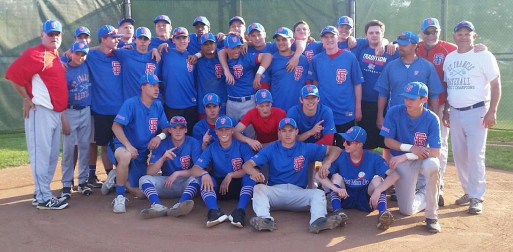 2016_StFrancisdeSales_TRAC_Baseball_Champs